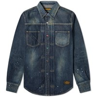 Neighborhood Savage Western Shirt Blue