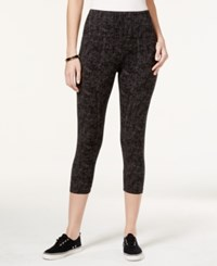 Styleandco. Style And Co. Petite Tummy Control Cropped Active Leggings Only At Macy's