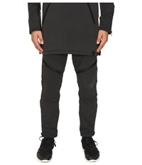 Yohji Yamamoto Tecfleece Sweatpants Black Men's Casual Pants