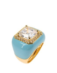 Cz By Kenneth Jay Lane Rings Sky Blue