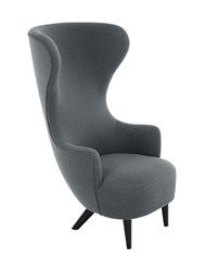 Tom Dixon Wingback Chair Grey