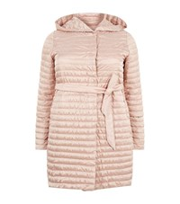 Marina Rinaldi Longline Down Filled Jacket Pink