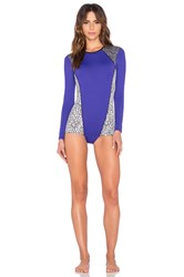 Kore Swim Selene Surf Maillot Serpent Purple
