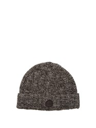 Adidas Originals By Wings Horns Wool Blend Beanie Hat Charcoal