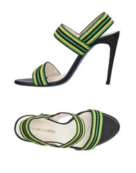 Mauro Grifoni Sandals Green