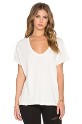 The Great The U Neck Tee Ivory