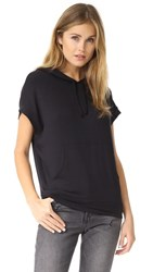 Riller And Fount Chip Sleeveless Pullover Hoodie Black French Terry