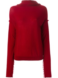 A.F.Vandevorst '152 Trinidad' Sweater Red
