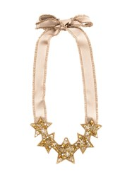 Red Valentino V Beaded Star Necklace 60