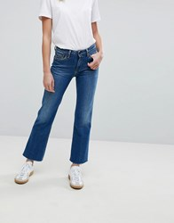 Pepe Jeans Check In Bootcut Denim Blue