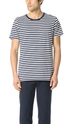 Scotch And Soda Uneven Hem Clean Tee Combo B