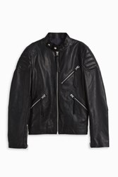 Acne Studios Oliver Leather Jacket Black