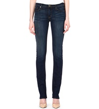 Hudson Jeans Tilda Straight Mid Rise Jeans Siouxsie
