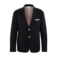 Thom Browne Cotton Blazer Navy