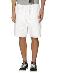 Diesel Black Gold Denim Bermudas White
