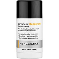 Menscience Men's Advanced Deodorant No Color