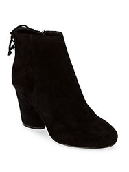 Saks Fifth Avenue Nina Leather Booties Black