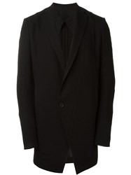 Julius Oversized Asymmetric Blazer Black