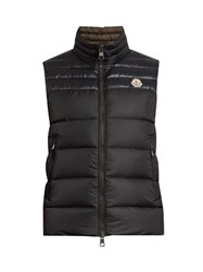Moncler Dupress Quilted Down Gilet Navy
