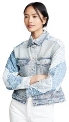 Blank Denim Patchwork Jacket Wild Meadow