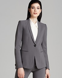 Armani Collezioni Blazer One Button Grey