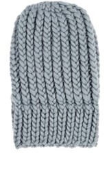 Wommelsdorff Women's Jenna Chunky Virgin Wool Beanie Grey
