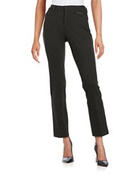 Nydj Petite Cropped Dress Pants Charcoal