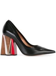 Marni Prism Heel Pumps Black