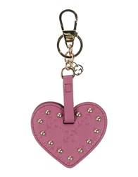 Gucci Small Leather Goods Key Rings Women Mauve