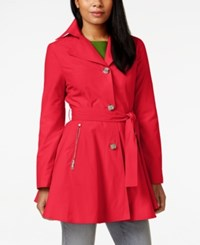Inc International Concepts Skirted Trench Coat Only At Macy's Pimento