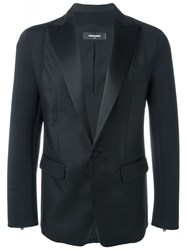 Dsquared2 Fitted Blazer Black