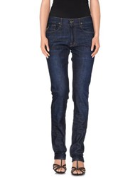 April 77 Denim Denim Trousers Women Blue