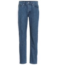 Calvin Klein Jeans High Waisted Taped Blue