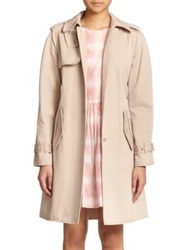 Marc By Marc Jacobs Classic Cotton Trenchcoat New Beige