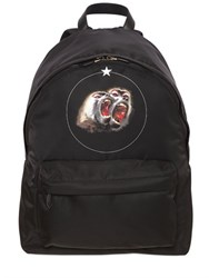 Givenchy Monkeys Printed Nylon Backpack