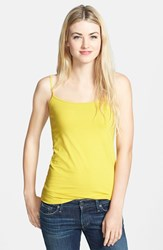 Women's Halogen 'Absolute' Camisole Yellow Tea