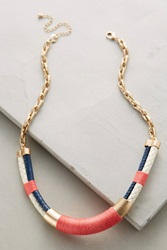 Anthropologie Nautical Necklace Pink