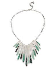 Robert Lee Morris Lets Turq About It Turquoise Statement Necklace Green