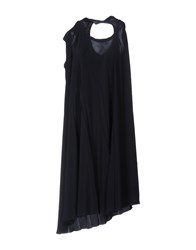 Lutz Knee Length Dresses Dark Blue