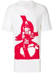 Lost And Found Ria Dunn Oversized Hands Print T Shirt White
