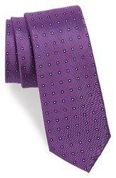 Calibrate Men's Descrete Geometric Silk Tie