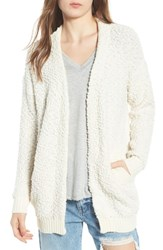 Dreamers By Debut Nubby Cardigan Ivory