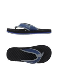 The North Face Footwear Thong Sandals Men Blue