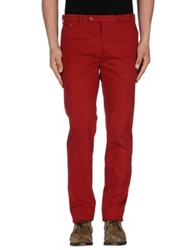 Carven Casual Pants Brick Red