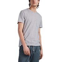 Atm Anthony Thomas Melillo Donegal Knit Cotton T Shirt Gray