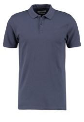 Jack And Jones Jprbelfast Slim Fit Polo Shirt Grisaille Blue Grey