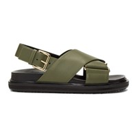 Marni Green Fussbett Sandals