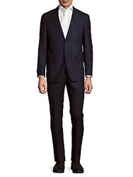 Todd Snyder Mayfair Modern Fit Solid Wool Blend Suit Dark Blue