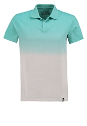 Your Turn Polo Shirt Turquoise Light Grey