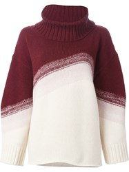 I'm Isola Marras Oversized Roll Neck Sweater Nude And Neutrals
